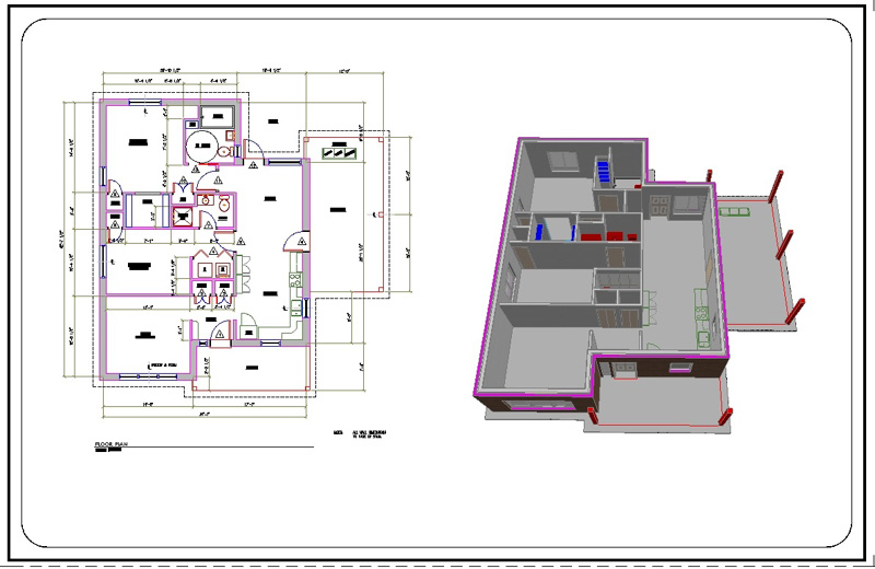 Sw 4 B Autocad House Plans Pdf Free Download On House Plans In Autocad File